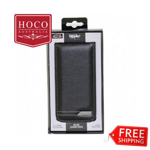 Mossimo Deluxe Leather Pouch for iPhone 6/6S - Black Grey