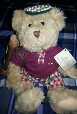 Russ Bears From The Past Chip Golfing Bear 13957 Euc tags c43