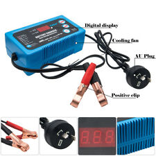 MICTUNING Battery Charger Maintainer,6V 12V Intelligent Fully Automatic Smart