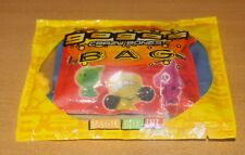 Crazy Bones Gogos Series 1 Blister Pack - 1 BLUE Collector Bag + 1 Pack