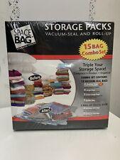 Space Bag 15 Bag Combo Set - New & Sealed