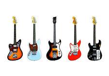 Kurt Cobain's Guitars POSTER PRINT A1 Size