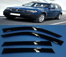 car smoke  BMW X-3 E-83  TINT WINDOW VISOR SHADE/VENT WIND/RAIN DEFLECTOR