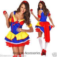 I56 Deluxe Ladies Princess Snow White Fairy Tale Fancy Dress Halloween Costume