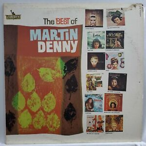 🔥RARE🔥 The Best Of Martin DENNY - S-6602  LP VINYL NEAR MINT COMBINED SHIP