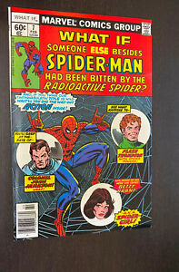 WHAT IF #7 (Marvel Comics 1978) -- Bronze Age Spider-Man -- VF+