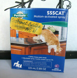 PetSafe SSSCAT Motion-Activated Spray Pet Deterrent PPD00-16817