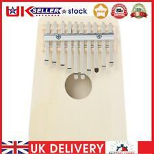 More details for 10 key kalimba diy kit basswood thumb piano musical instrument for beginner