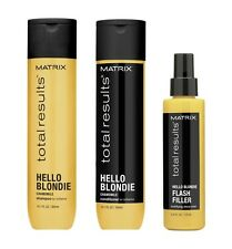 Matrix Total Results Hello Blondie Shampoo and Conditioner 300ml