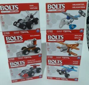 Bolts Erector by Meccano SpinMaster Engineering & Robotics Lot of 6 Kids STEM