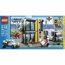 LEGO City Bank & Money Transfer Exclusive Set #3661 100% complete, with manuals