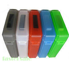 "5x 3.5"" Hard Drive Disk HDD SATA IDE Plastic Storage Container Box Case New"