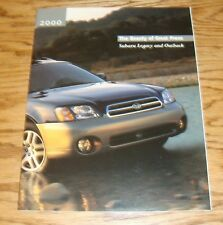 Original 2000 Subaru Legacy and Outback Sales Brochure 00