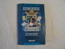 """IBM PC SOFTWARE Sidekick by Borland for PC, XT, AT, etc.  5.25"""" Diskette"""