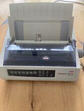 New listing Oki Microline 320 Turbo Dot Matrix Networkable Printer - White