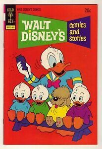 Walt Disney Comics & Stories #404 - 1974 Gold Key - Carl Barks art - VF/NM (9.0)