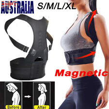 Adjustable Posture Corrector Back Support Shoulder Lumbar Brace Belt Men Women