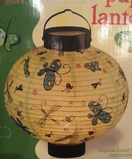 Boston Warehouse Bugs And Bees Paper Lantern Battery Powered