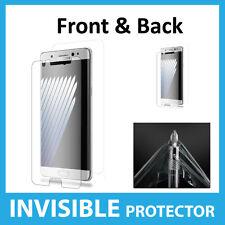Samsung Galaxy Note 7 Protège Écran protection INVISIBLE Complet AVANT & ARRIÈRE