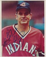 Gaylord Perry Autographed 8 X 10 Photo  with Cleveland Indians