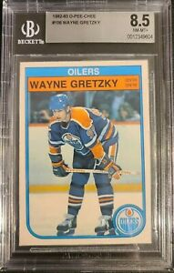 Wayne Gretzky 1982 Beckett 8.5 NM MT+ Card # 106