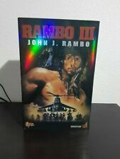 HOT TOYS FIRST BLOOD III JOHN J RAMBO 1/6 FIGURE SYLVESTER STALLONE SIDESHOW