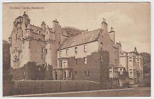 Crathes Castle, Banchory: ~WW1 (Est) Vintage Sepia PPC, Publ.Unknown, GVG Used.