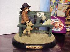 Little Emmett Kelly Junior Wet Paint #9183 Resin Figurine Mint In Box No Reserve