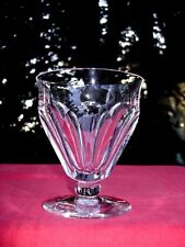 BACCARAT TALLEYRAND WINE CRYSTAL GLASS VERRE A VIN CRISTAL TAILLÉ ART DECO