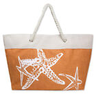 Anchor Bags - Large Summer Tote Bags with Zipper Closure Shoulder Bag For Women
