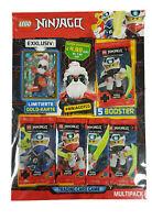 Lego® Ninjago™ Serie 5 Trading Card Game -  Multipack mit LE7 Unagami