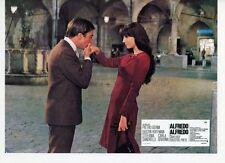 DUSTIN HOFFMAN STEFANIA SANDRELLI ALFREDO ALFREDO 1972 VINTAGE LOBBY CARD #5