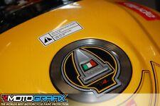 Aprilia RSV4 R Tuono V4 09 10 11 Motorcycle Filler / Gas Cap Cover Gel Protector