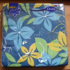 Duni Tissue Servietten 33 x 33 cm My Daisy Blue 20 St/ück