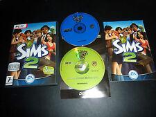 JEUX PC LES SIMS 2 EDITION SPECIALE DVD et EDITION DE NOEL comme neuf