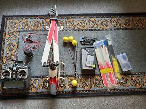 RC helicopter kit. Align Trex with Hitec Aroura handset