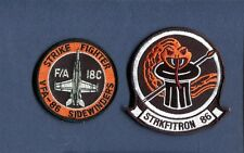 VFA-86 SIDEWINDERS US NAVY F-18 HORNET Fighter Squadron Patch Set