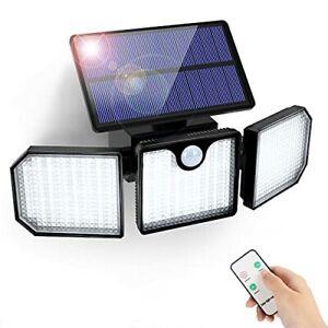 Lampe Solaire Extérieur Détecteur de Mouvement GolWof 230 LED Lumière...