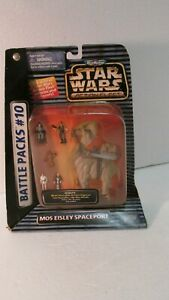 Galoob Micro Machines Star Wars Action Fleet Mos Eisley Spaceport 1996 t3108