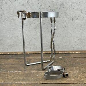 Vintage Steel Bottle Cage 70s QR Quick Release Strap Clamp Mount Herse Singer