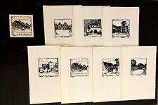 Portfolio Sascha Juritz 7 Original Prints Handmade Paper Dreieichenheim Germany