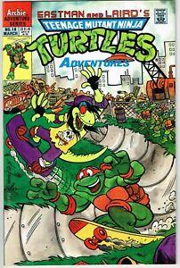 Teenage Mutant Ninja Turtles Adventures #18 (1989) - 9.4 NM *Mondo Metal*