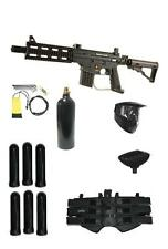 NEW US ARMY Project Salvo Tactical Tippmann MEGA Paintball Gun Set Sniper Pack