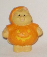 Hallmark Merry Miniature 1995 Halloween Cameron in Pumpkin Costume