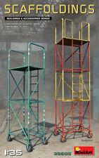 MiniArt 1/35 35605 Scaffoldings (WWII Buildings & Accessories)