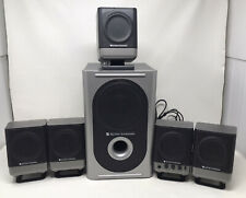 Dell Altec Lansing  251 Surround Sound 5.1 Computer Speakers ~ Tested Working !