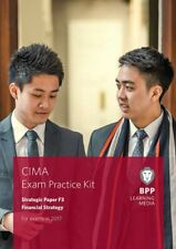 Cima F3 Financial Strategy: Exam Practice Kit by Bpp Learning Media Book The