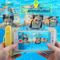 Universal Waterproof For Cell Mobile Phone Dry Bag Case Cover Underwater Pouch