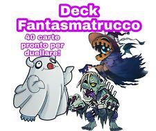 Yu-Gi-Oh! Deck FANTASMATRUCCO - Mazzo Completo 40 carte - ITALIANO