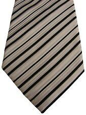 GUTHRIE & VALENTINE Mens Tie Black White Stripes NEW